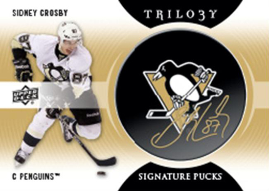 NHL-Trilogy-Autograph-Puck-Sidney-Crosby