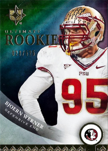 2013-Upper-Deck-Football-Ultimate-Collection-Bjoern-Werner