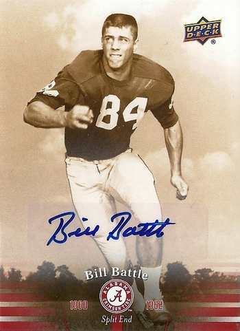 Upper-Deck-Alabama-Autograph-Card-Bill-Battle