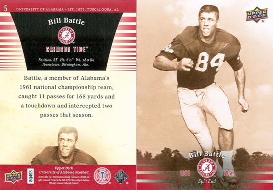 Upper-Deck-Alabama-Football-Set-Bill-Battle-Athletic-Director-University-Crimson-Tide
