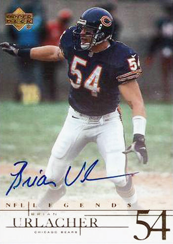 2001-Upper-Deck-Legends-Brian-Urlacher-Autograph-Card