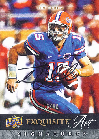2012-New-Exquisite-Collection-Art-Autograph-Tim-Tebow