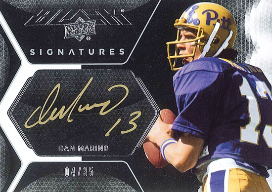 2012-New-Exquisite-Collection-UD-Black-Signatures-Dan-Marino