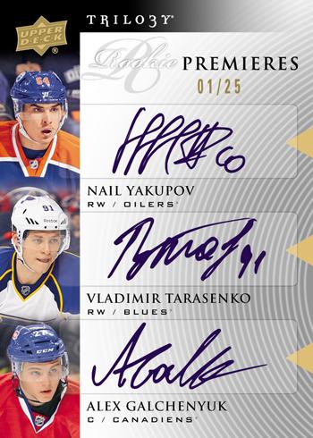 2013-14-NHL-Trilogy-Rookie-Premieres-Yakupov-Tarasenko-Galchenyuk-Autograph