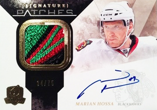Chicago-Blackhawks-10-11-NHL-The-Cup-Signature-Patches-Marian-Hossa-Card