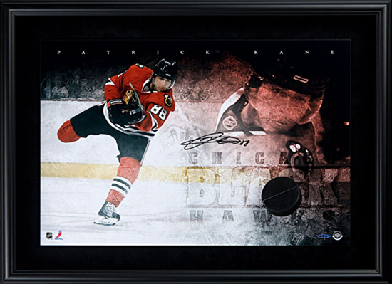 Chicago-Blackhawks-Collectible-Memorabilia-Patrick-Kane-Breaking-Through-UDA