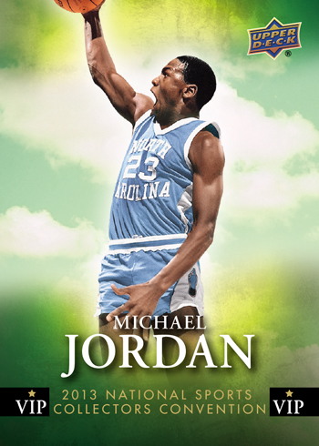 2013-National-Sports-Collectors-Convention-VIP-Card-Michael-Jordan