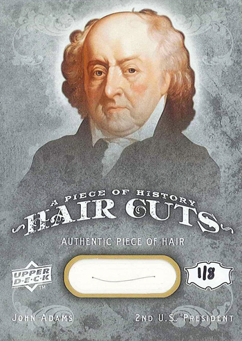 2013-National-Upper-Deck-Expired-Redemption-Raffle-John-Adams-Hair-Card