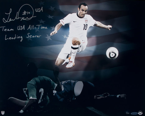 Fathers-Day-Great-Gift-for-Dad-Sports-Soccer-Landon-Donovan-Autograph-UDA