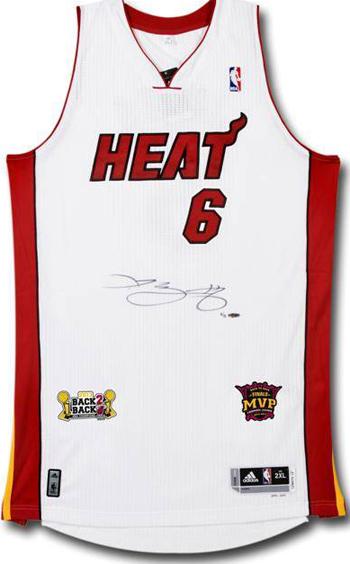 Upper-Deck-Authenticated-LeBron-James-Back2Back-Champ-MVP-Jersey-Autograph
