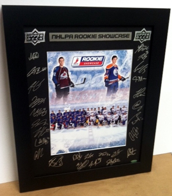 2011-NHLPA-Rookie-Showcase-Autograph-Upper-Deck-Framed-Photo