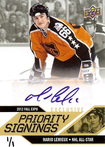 2013-National-Sports-Collectors-Convention-Diamond-Club-Event-Autograph-Mario-Lemieux