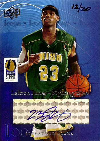 2013-National-Sports-Collectors-Convention-Diamond-Club-Event-LeBron-James-Autograph
