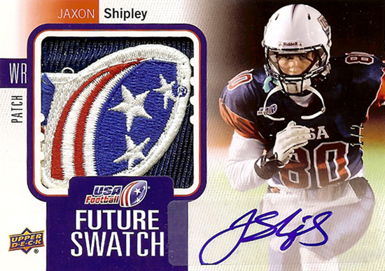 2013-National-Sports-Collectors-Convention-Diamond-Club-Event-USA-Football-Jaxon-Shipley