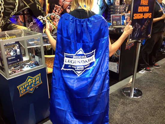 Comic-Con-Upper-Deck-San-Diego-Marvel-Become-Legendary-Cape