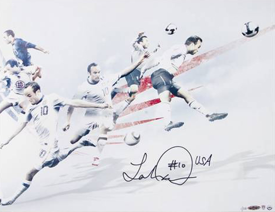 Landon-Donovan-autograph-Team-USA-Photograph