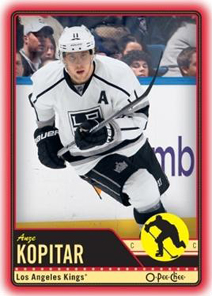 2012-13-NHL-O-Pee-Chee-Wrapper-Redemption-Red-Bordered-Anze-Kopitar