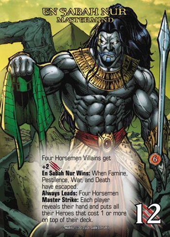2013-Marvel-Legendary-Deck-Building-Game-Gen-Con-Dark-City-Apocalypse-En-Sabah-Nur