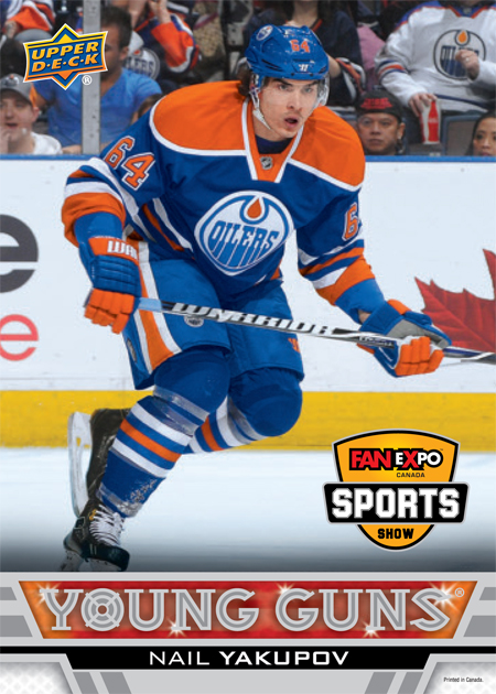 2013-FanExpo-Toronto-Exclusive-Upper-Deck-Young-Guns-Nail-Yakupov-Edmonton-Oilers-Card
