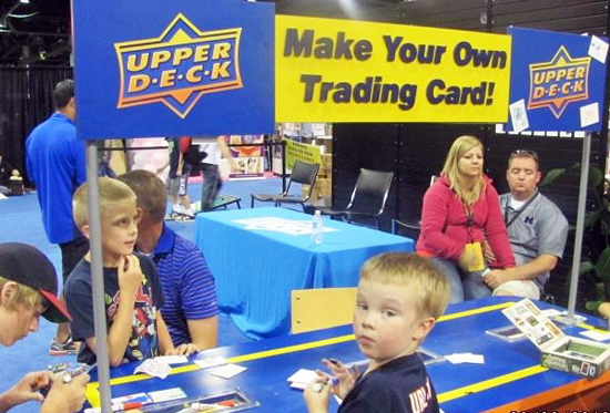 2013-National-Sports-Collectors-Convention-Kids-Draw-Your-Own-Trading-Card-Table-1