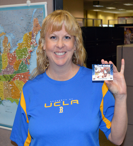 2013-Upper-Deck-CLC-College-Colors-Day-Celebration-Dianne-Hatley-Sales-UCLA