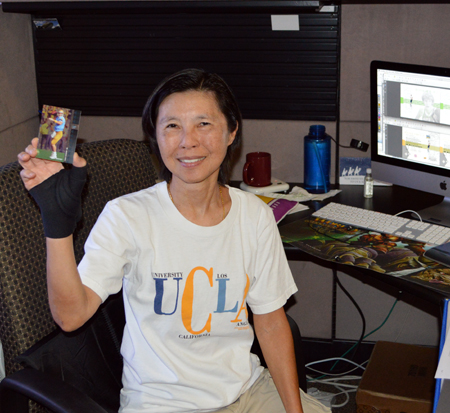2013-Upper-Deck-CLC-College-Colors-Day-Celebration-Niki-Mungcharoen-Production-Artist-UCLA