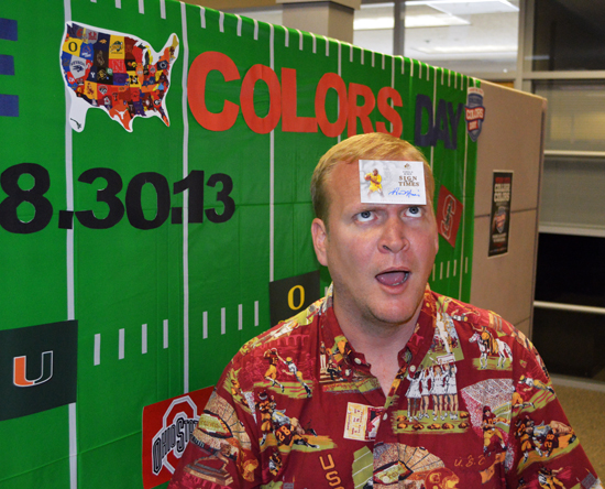 2013-Upper-Deck-CLC-College-Colors-Day-USC-Trojans-Basketball-Forehead