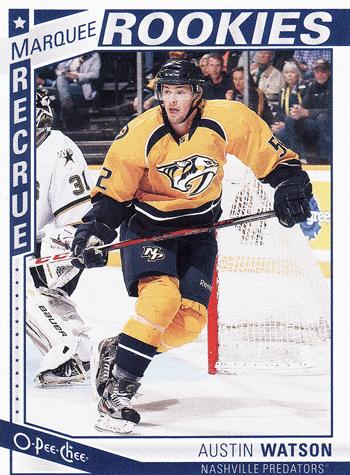 2013-14-NHL-O-Pee-Chee-Marquee-Rookies-Austin-Watson