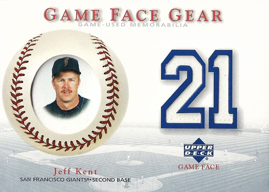 Collecting-Survivor-2003-Upper-Deck-Game-Face-Gear-Jeff-Kent