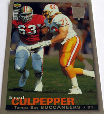 Collecting-Survivor-Brad-Culpepper-Tampa-Bay-Buccaneers-Collectors-Choice