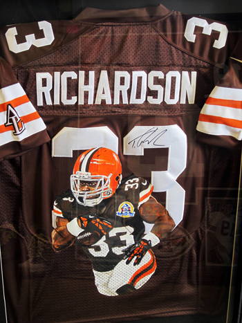 Collecting-Trent-Richardson-University-of-Alabama-Cleveland-Browns-Jersey