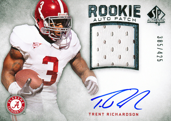 Collecting-Trent-Richardson-University-of-Alabama-Indianapolis-Colts-SP-Authentic-Rookie