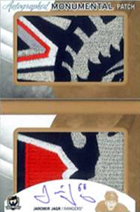 2012-13-NHL-The-Cup-Monumental-Rookie-Patch-Autograph-Jaromir-Jagr