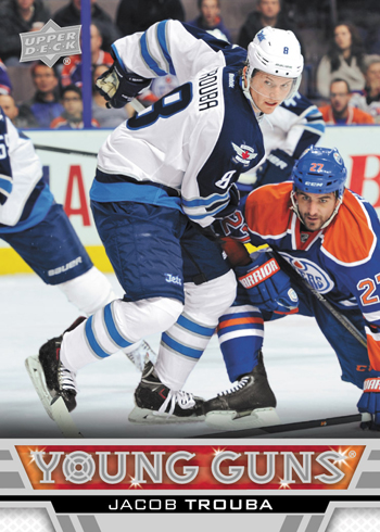 2013-14-NHL-Upper-Deck-Series-One-Young-Guns-Rookie-Card-Jacob-Trouba-Winnipeg-Jets