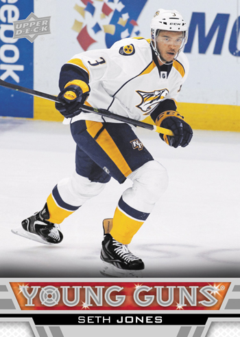 2013-14-NHL-Upper-Deck-Series-One-Young-Guns-Rookie-Card-Seth-Jones-Nashville-Predators