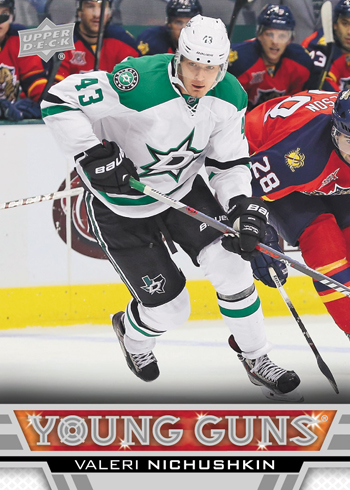 2013-14-NHL-Upper-Deck-Series-One-Young-Guns-Rookie-Card-Valeri-Nichushkin-Dallas-Stars