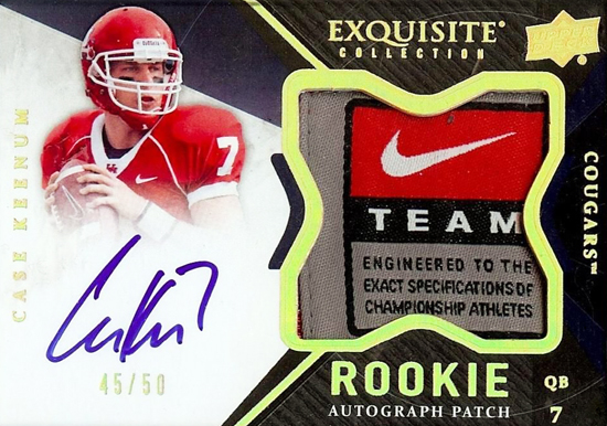 2012-Exquisite-Collection-Football-Autograph-Patch-Rookie-Case-Keenum