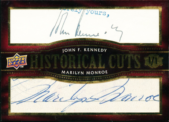 Collecting-John-Fitzgerald-Kennedy-JFK-SP-Legendary-Cuts-Historical-Mariyn-Monroe