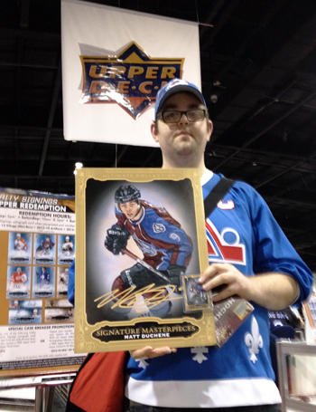 UD-Surprises-Hockey-Card-Fans-Sports-Card-Memorabilia-Expo-Hobby-Insider-Will-Bennett-Matt-Duchene-Super-Collector