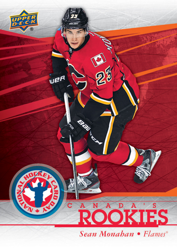 2014-National-Hockey-Card-Day-Canada-Upper-Deck-Rookies-Sean-Monahan