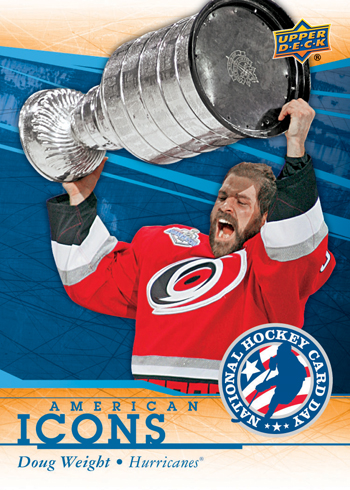 2014-Upper-Deck-National-Hockey-Card-Day-USA-America-Doug-Weight