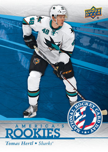2014-Upper-Deck-National-Hockey-Card-Day-USA-America-Rookies-Tomas-Hertl