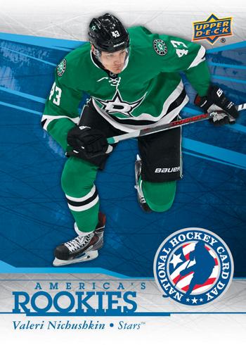 2014-Upper-Deck-National-Hockey-Card-Day-USA-America-Rookies-Valeri-Nichushkin
