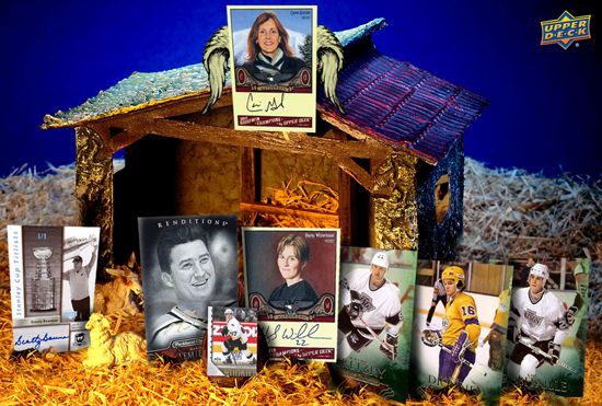 Holiday-Upper-Deck-Nativity-Scene-NHL-Trading-Cards-Christmas1