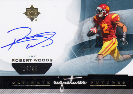 Live-2013-Upper-Deck-Ultimate-Collection-Footbal-Signatures-Robert-Woods