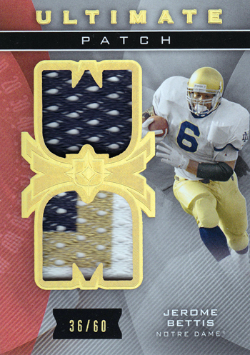 Live-2013-Upper-Deck-Ultimate-Collection-Footbal-Ultimate-Patch-Jerome-Bettis