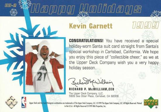 Santa-Card-1999-Kevin-Garnett-Back