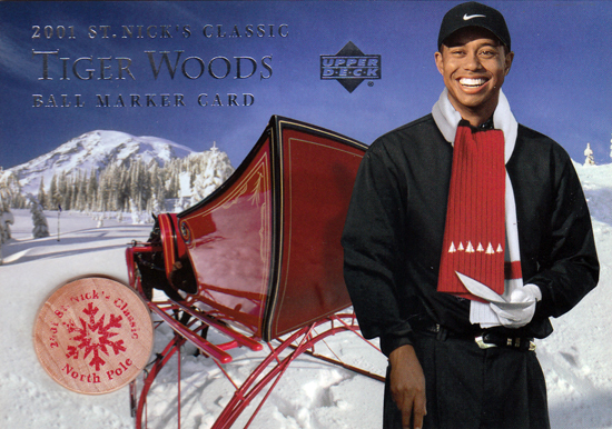 Santa-Card-2001-Tiger-Woods-Ball-Marker
