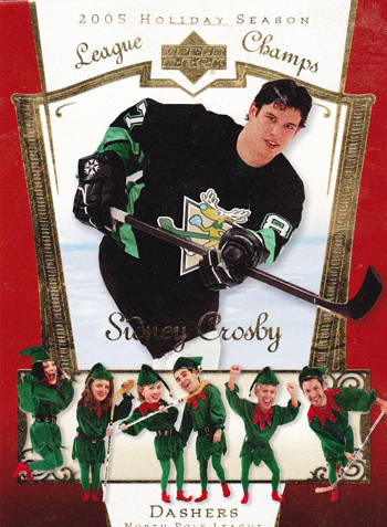 Santa-Card-2005-Holiday-Season-Sidney-Crosby-Elves