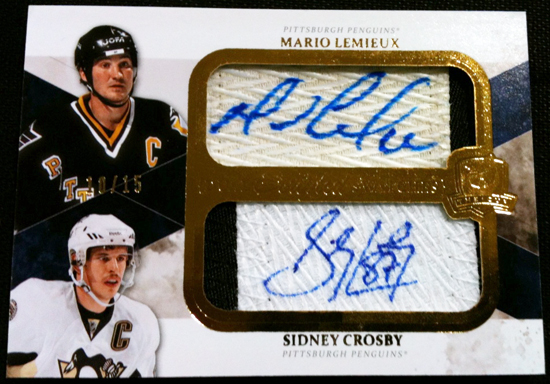2010-11-NHL-The-Cup-Scripted-Swatches-Mario-Lemieux-Sidney-Crosby